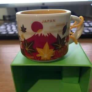 Japan Autumn Starbucks Ornament